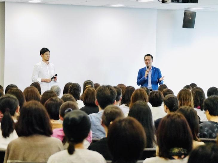 20万部突破ベストセラー『血流がすべて解決する』の著者堀江昭佳さんの講演会に登壇