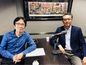 東京FM「0から1を生む力」に出演(パーソナリティ前田出氏)