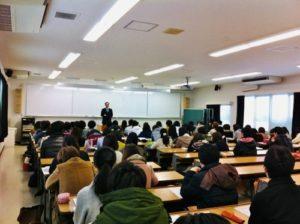 奈良教育大学で講演